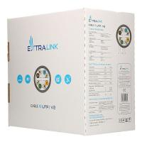 EXTRALINK CAT6 UTP (U/UTP) V2 INDOOR TWISTED PAIR 305M(EL-LAN-UUTP-CAT6-305)