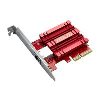 ASUS 10GBase-T PCIe Network Adapter with backward compatibility of 5/2.5/1G and 100Mbps (XG-C100C)