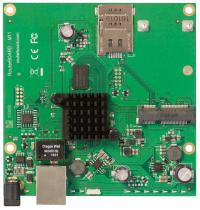 MIKROTIK RouterBoard with 1x Gbit LAN, 1x MiniPCIe and 1x SIM card slots (RBM11G)